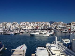 Puerto Banus in Marbella, Spain