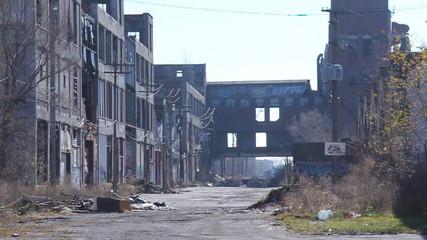 Detroit Factory Ruins 3
