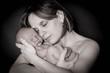 amour maman et son enfant