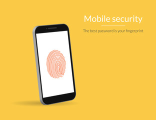 Fingerprint scanning on smartphone