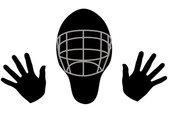 floorball goaltender