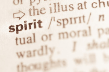 Dictionary definition of word spiryt