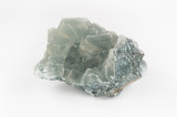Large Transparent Green Fluorite Crystal