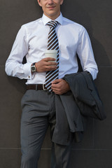 Businessman With Coffee