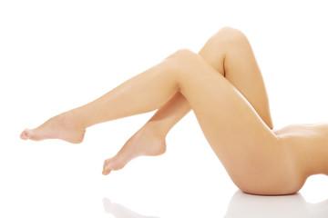 Beautiful perfect female legs.