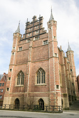 The Vleeshuis in Antwerp, a former guildhall of the butchers