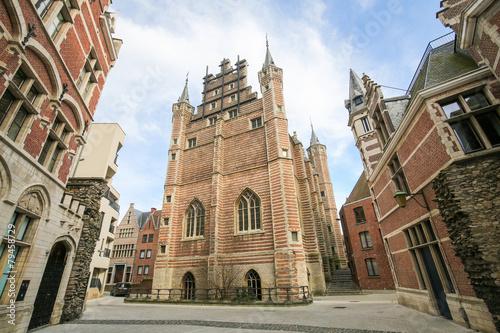 Aluminium Antwerpen The Vleeshuis in Antwerp, a former guildhall of the butchers