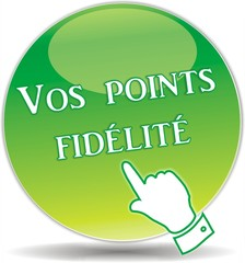 bouton points fidélité