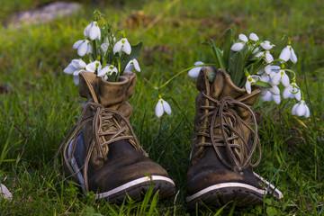 yayla ve ayakkabılar