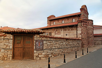 Old Town Ancient Church, Nessebar, Bulgaria.
