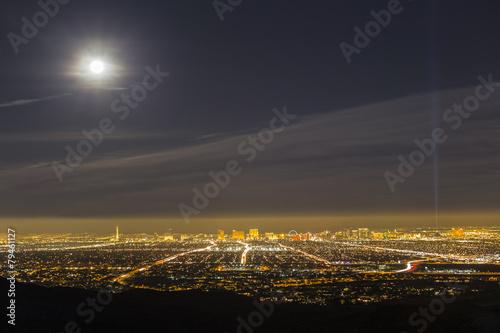 Poster Las Vegas Full Moon