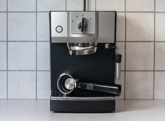 Espresso Machine ready to be used
