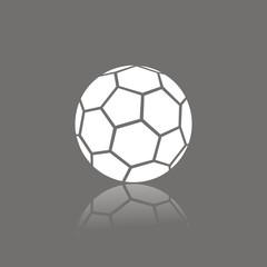 Icono balón fútbol FO reflejo