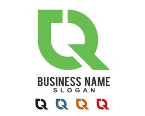 lettermark CR logo template 91
