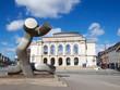 Leinwanddruck Bild - Augsburg - Kennedy-Platz