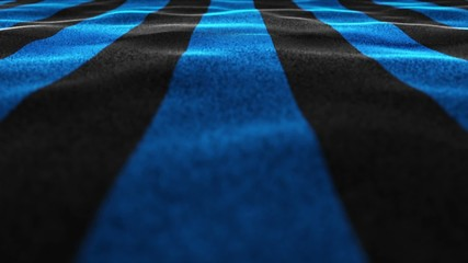 Black and Blue Flag, Textile Background, Still Camera