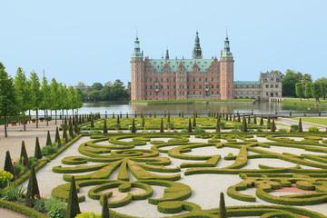 Danish castle in Hillerod