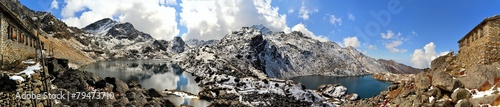 Leinwanddruck Bild Gosainkunda Mirror Lake, Himalayas, Nepal