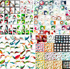 Universal huge mega set of abstract backgrounds