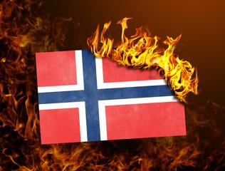 Flag burning - Norway
