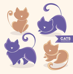 lovely cats, my favorite pets