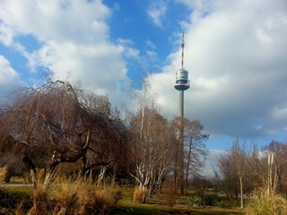 donaupark im winter