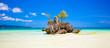 Leinwanddruck Bild - Willy's rock on island Boracay, Philippines