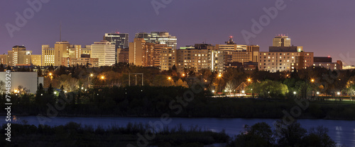 Foto op Canvas Canada Skyline of Regina, Saskatchewan