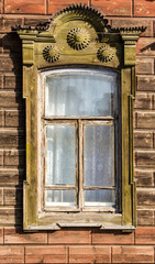 A Traditional Russian Window Frame
