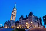 Canada Parliament Building in Ottawa