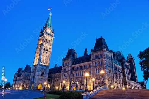 Foto op Canvas Canada Canada Parliament Building in Ottawa
