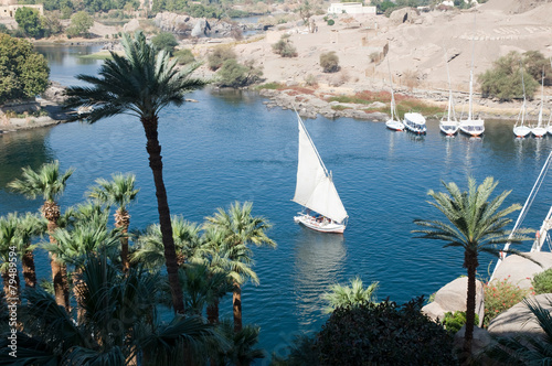 Felucca on River Nile - 79489594