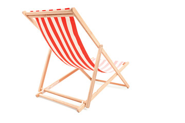 Studio shot of a sun lounger
