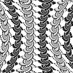 Design warped monochrome vertical spiral background