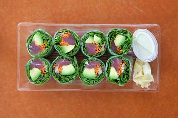 Sushi Salad Rolls