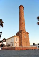 Faro marítimo, Chipiona, Costa de Cádiz, España
