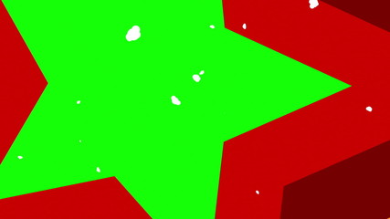 exploding bomb with a green screen,  3d animation