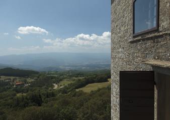 Paesaggio dal Santuario della Verna