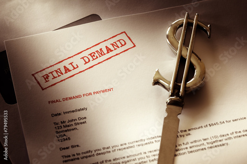 Final demand notice - 79495533