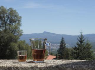 Un tè all'aperto