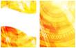 Binary code yellow background