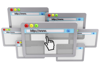 Browser Concept - 3D