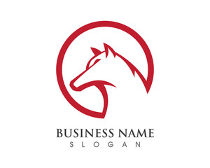 Head Wolf Logo 1