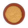Powdered fajita seasoning mix in a small bowl