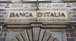 Bank of Italy facade in Arezzo, Italy