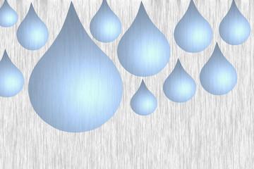 Goutte d'eau - Source Thermale