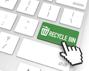 Recycle Bin Enter Key