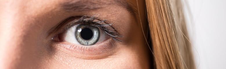 Close-up of female eye