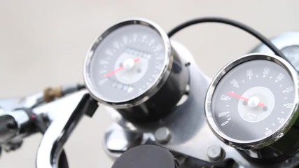 Motorcycle gage mater