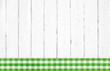 Rustikaler Shabby chic Landhausstil Hintergrund weiß grün